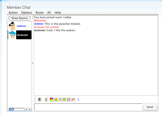 Chat Rooms Like Parachat